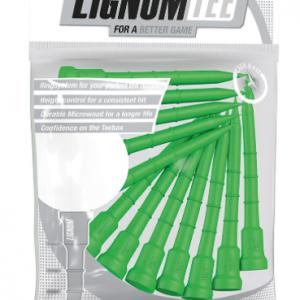 Lignum Golf Tees Verde (12 buc)