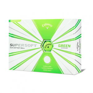 Mingi de golf Callaway Supersoft Green ( 2019 )