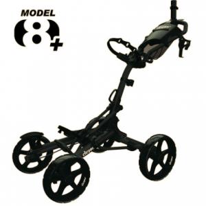 Cărucior Golf Clicgear 8+ cu 4 roți negru