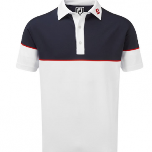Tricou Polo FootJoy Bărbați Block Stretch Pique 2019