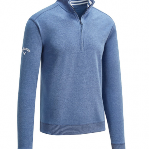 Bluză Callaway French Terry Quarter Zip, Bărbați