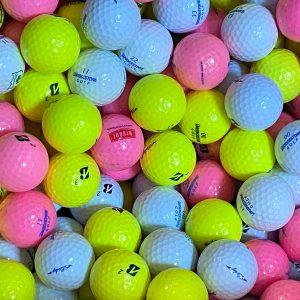 Set mingi de golf Bridgestone, recuperate, Vrac ( 50 buc )