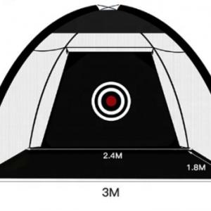 Home Driving Range Net, Pliabil, Negru