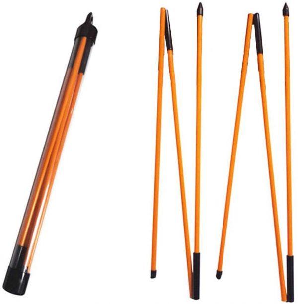 Set Bețe de Aliniere - Foldable Golf Sticks