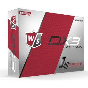 Mingi de Golf Wilson Staff DX3 Soft Spin, 12 buc
