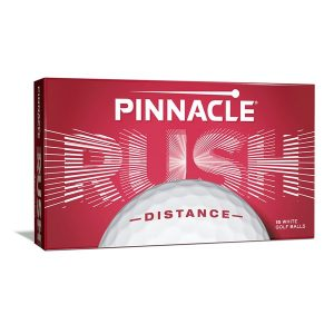 Mingi De Golf Pinnacle Distance Rush, Albe ( 15 mingi )