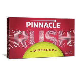 Mingi De Golf Pinnacle Distance Rush Galbene ( 15 mingi )